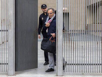 Sergio Blasco tras ser puesto en libertad por el juez de la operación Osvaldo.