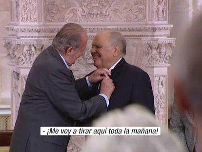 El Rey entrega el Toisón de oro al exsecretario general iberoamericano