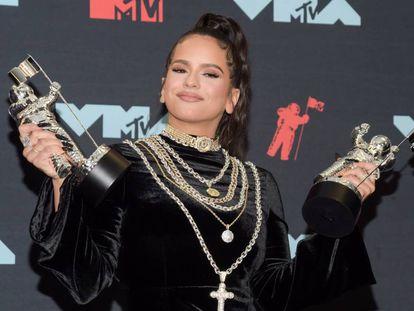 Rosalía, con los premios MTV al mejor vídeo latino y a la mejor coreografía.