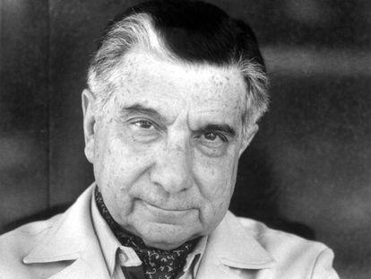 El escritor paraguayo Augusto Roa Bastos en 1989, año en que ganó el premio Cervantes.