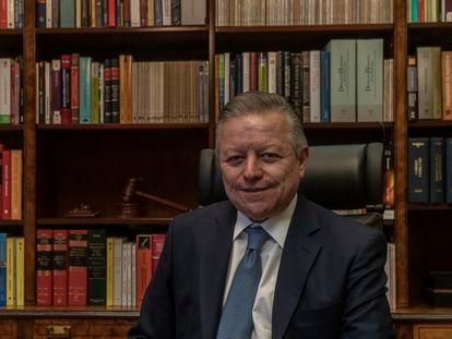 Arturo Zaldívar, ministro presidente de la Suprema Corte de Justicia de México.