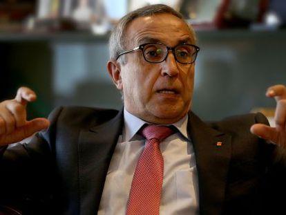 Alejandro Blanco, en su despacho del COE.
