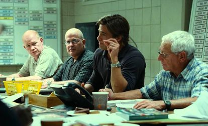 Fotograma de la película 'Moneyball', que trata sobre el primer equipo de béisbol que empleó estadística avanzada para fichar jugadores.