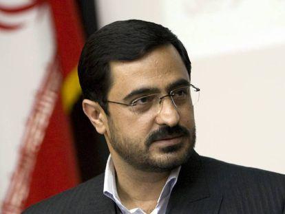 Said Mortazaví durante una rueda de prensa en 2009 en Teherán (Irán).