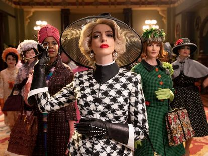 Anne Hathaway, en 'Las brujas (de Roald Dahl)', la adaptación cinematográfica del libro del escritor británico.