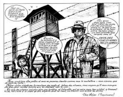 Viñeta del cómic 'Tsiganes', de Kkris Mirror.
