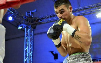 El boxeador argentino Hugo Santillán, fallecido la semana pasada.