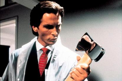 Christian Bale en 'American Psycho'.