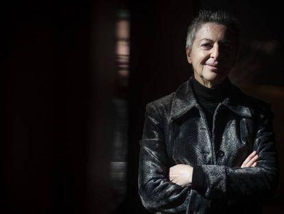 La escritora Barbara Jacobs, en Barcelona.