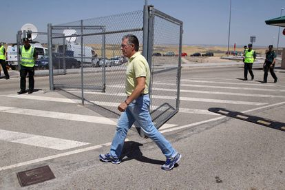 Francisco Granados sale de la cárcel de Estremera el 14 de junio.