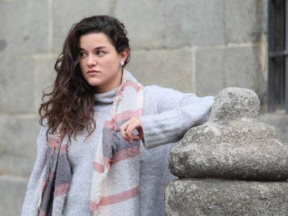 Ainara M., el pasado noviembre en Madrid.