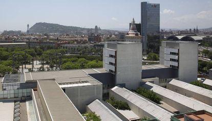 En la imagen, el área donde surgirá la nueva ala del Hospital del Mar.