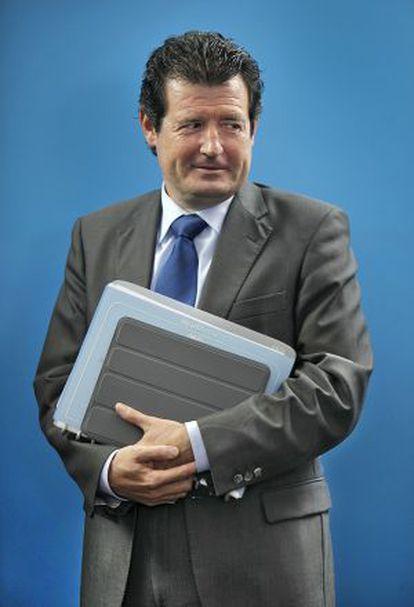 José Ciscar, después del pleno del Consell.