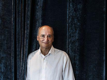 Gustavo Martín Garzo, en el restaurante Narciso de Madrid, en septiembre pasado.