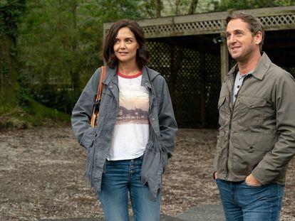 Katie Holmes y Josh Lucas, en 'El secreto. Atrévete a soñar'.