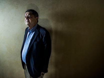 Sergio Ramirez, premio Cervantes, en el hotel Lusso Infantas.