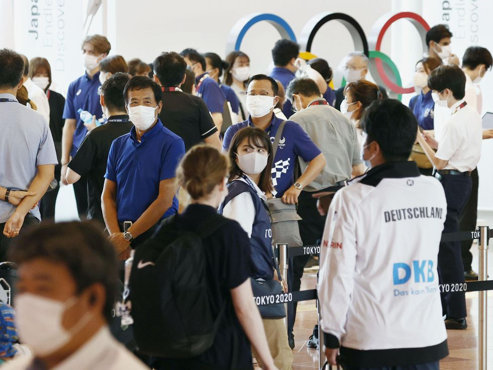 Tokio registra su mayor número de contagios de covid diarios en seis meses,  a ocho días de los Juegos Olímpicos   Juegos Olímpicos 2021   EL PAÍS