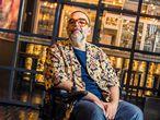 Roberto Enríquez, conocido como Bob Pop, que estrena en breve su serie 'Maricón perdido', en el Hotel Catalonia, Madrid.
