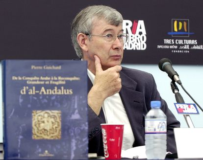 The French historian Pierre Guichard, at the presentation of a book of his in Madrid, in 2003.