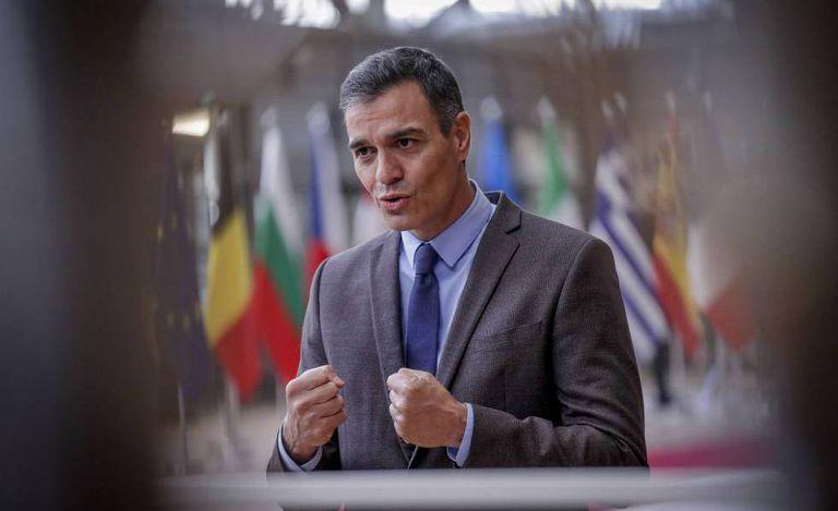 Pedro Sánchez, a su llegada a la cumbre europea de Bruselas el pasado viernes.