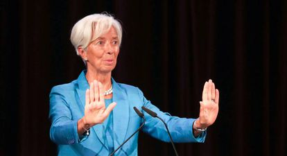 Christine Lagarde, designada para presidir el Banco Central Europeo.