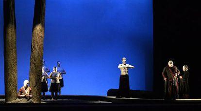 Representación en Manaos (Brasil) de la ópera de Wagner 'Parsifal'.