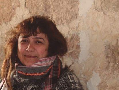 Juana Ruiz Sánchez, encarcelada en Israel, en una imagen cedida por la familia.