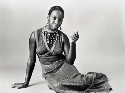 Nina Simone (1933-2003), en una fotografía de 1968.