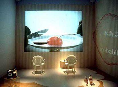 'Canon on the table', una instalación de Kaoru Motomiya sobre los hábitos alimenticios de la sociedad actual.