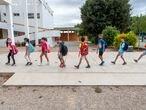Valencia   DVD 1018.  07–09-2020Cinco comunidades, entre ellas la valenciana, reabren este lunes sus aulas con las medidas anticovid decretadas para evitar la extensión de la pandemia, que ha causado más de medio millón de contagiosFOTO: MÒNICA TORRES/ EL PAÍS