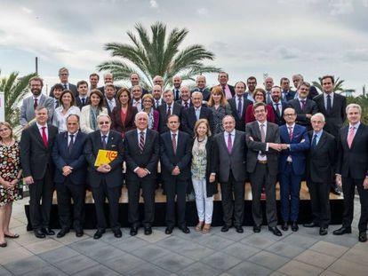 El jurado del Foro Español de Marcas Renombradas