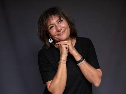 Asunción Ruiz, presidenta de SEO Birdlife, fotografiada en la sede de la organización en Madrid el lunes.
