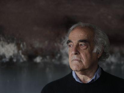 Retrato del historiador del arte Valeriano Bozal, en 2013.