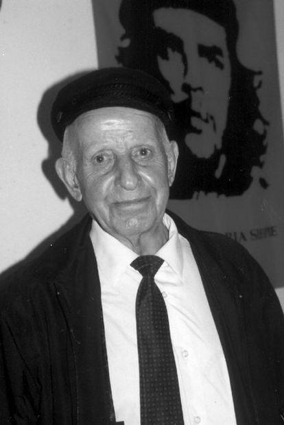 El antiguo guerrillero extremeño Gerardo Antón, <i>Pinto.</i>