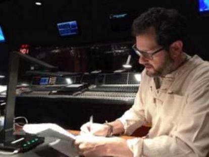 Michael Giacchino, con la partitura de 'Los Increíbles 2'.