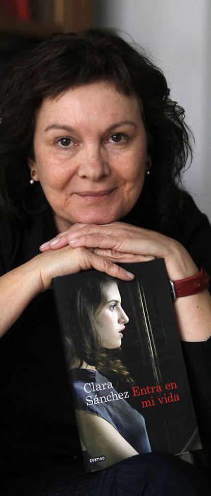 La escritora Clara Sánchez presenta 'Entra en mi vida', su última novela.