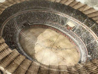 Una imagen de la serie documental 'Ingeniería romana'.