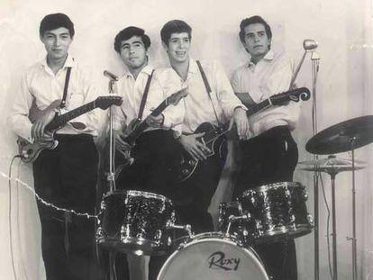 Los Saicos, grupo peruano precursor del punk, en los años sesenta.