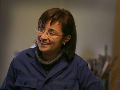 """""""És una pintora del grup dels que tenen sempre un somriure als llavis""""."""