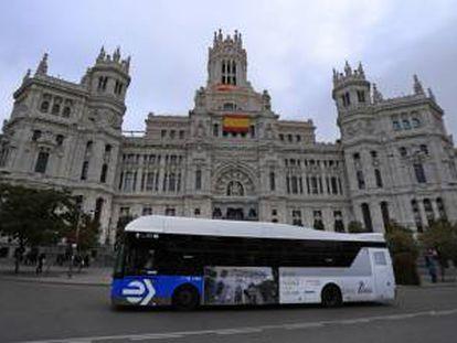 El Ayuntamiento de Madrid, en una imagen de archivo.