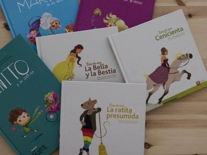 Cuentos de la editorial Cuatro Tuercas.