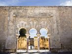 """Medina Azahara (Córdoba). In 936, the first Umayyad caliph from Córdoba, Abd-ar-Rahman III, ordered the construction of a """"shining city"""" – which is what Madinat al-Zahra translates as. It was a lavish city that showcased the splendor and luxury of the region, but it didn't last long. In 1010 it was destroyed in the war that ended the Umayyad dynasty. Entrance is free. More information: <a href=""""http://www.museosdeandalucia.es/cultura/museos/CAMA/"""" target=""""_blank"""">www.museosdeandalucia.es.</a>"""
