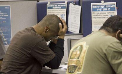 Imagen de una oficina del paro de Estados Unidos.