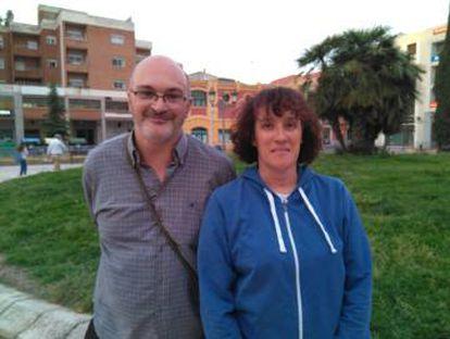 José Vicente Pacheco y Guadalupe Cabanillas, los padres de la víctima.