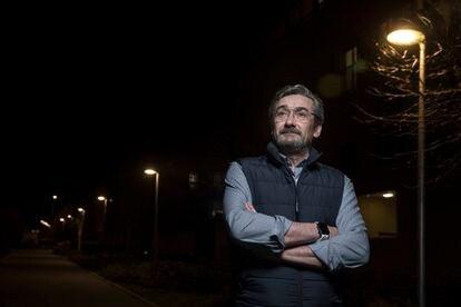 Ángel Aguilera, propietario de Atrezza, este miércoles en Madrid.