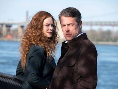 Nicole Kidman y Hugh Grant, en la serie 'The Undoing', de HBO.