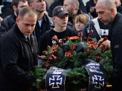 Homenaje a los soldados nazis caídos en la II Guerra Mundial.