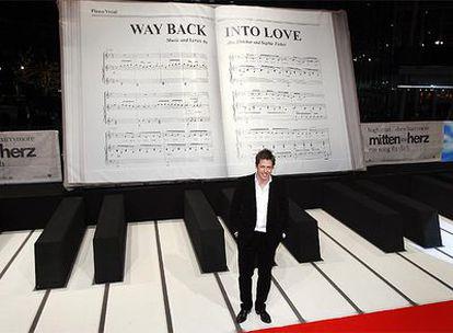 Hugh Grant, durante la presentación de su película 'Music and Lyrics' en Berlin