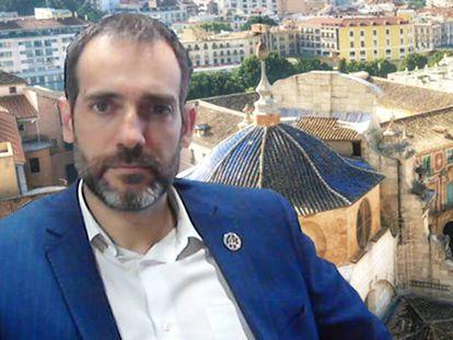 Juan José Liarte Pedreño, portavoz de Vox en la Asamblea de Murcia, en su imagen de perfil de Twitter.