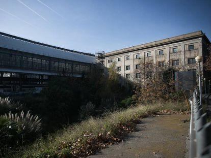 Terrenos en los que se levantará la Biblioteca Provincial de Barcelona, junto a la Estación de Francia.